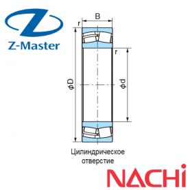 22206-EXQ-W33 подшипник Nachi