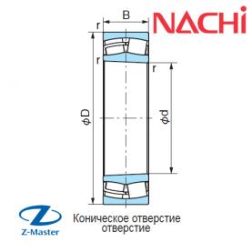 22312-K-EX-W33 подшипник Nachi