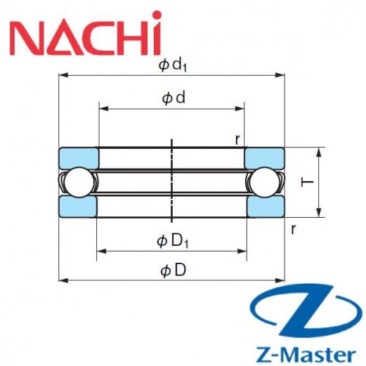 51210 подшипник Nachi