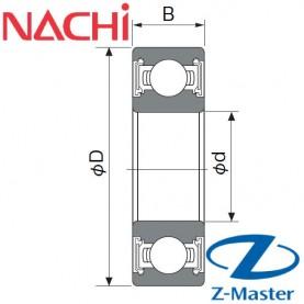 6000-2NKE-C3 подшипник Nachi