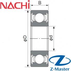 6004-2NS подшипник Nachi