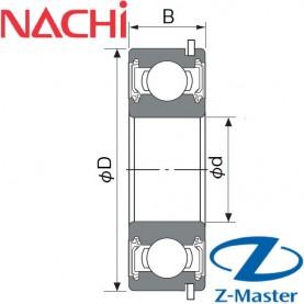 6000-2NS-NR подшипник Nachi