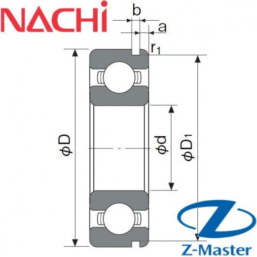 6207-N подшипник Nachi