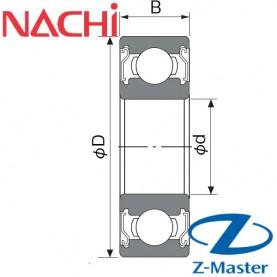6000-ZZ подшипник Nachi