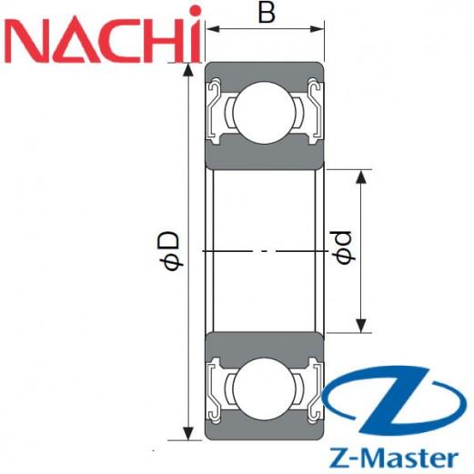 6002-ZZ подшипник Nachi
