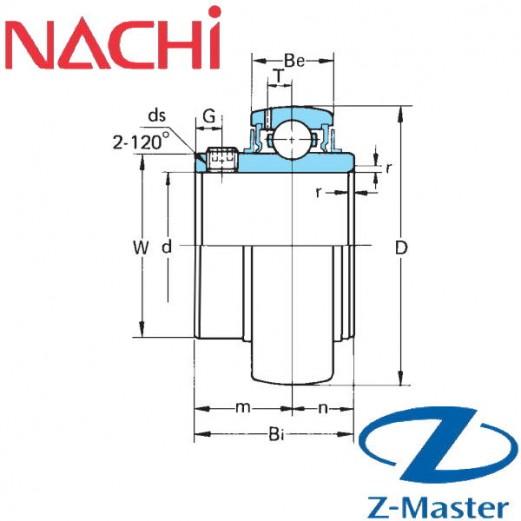 UC204-C4-HR5 подшипник Nachi для узла