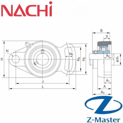 UCFA204 фланцевый узел Nachi